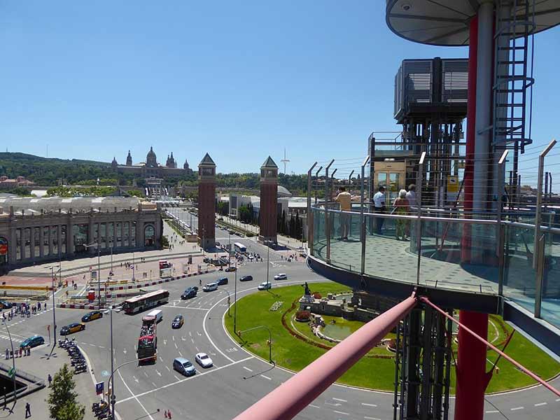 view las arenas barcelona