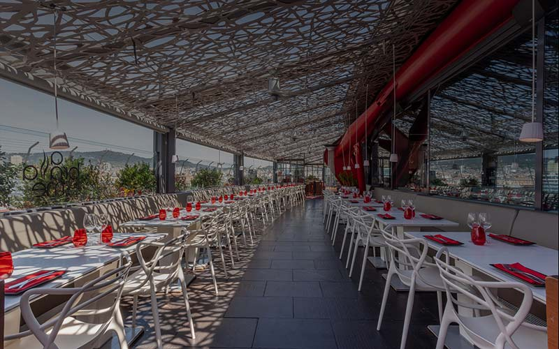 restaurant rooftop barcelone