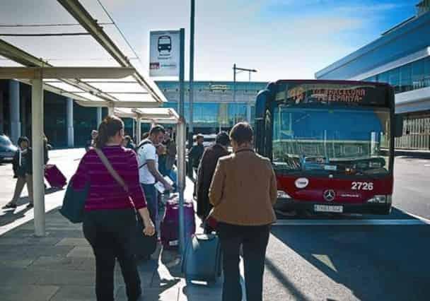 bus 46 navette aeroport barcelone