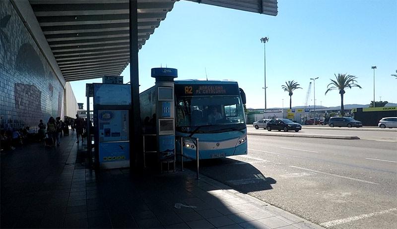 Aérobus navette Barcelone