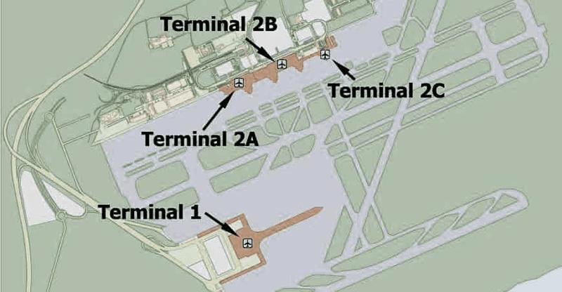 carte aeroport barcelone