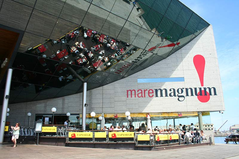Centre commercial barcelone maremagnum