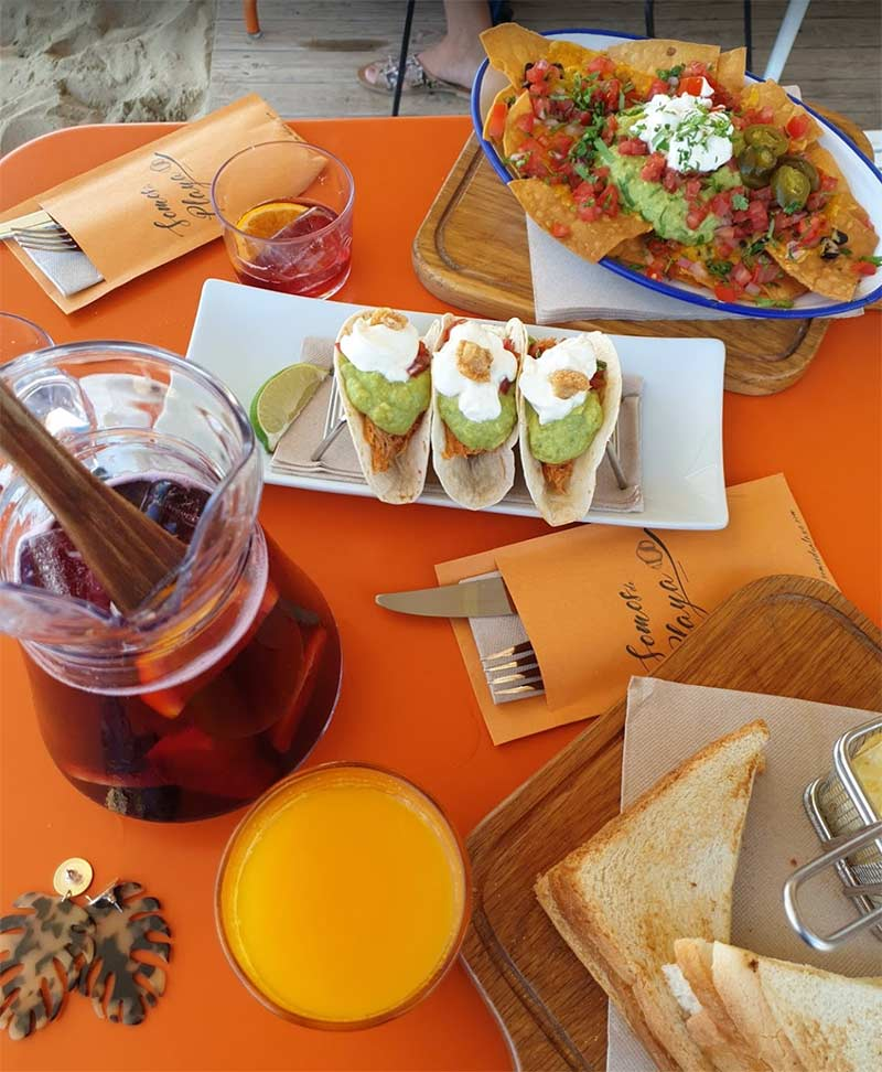 restaurant plage barcelone