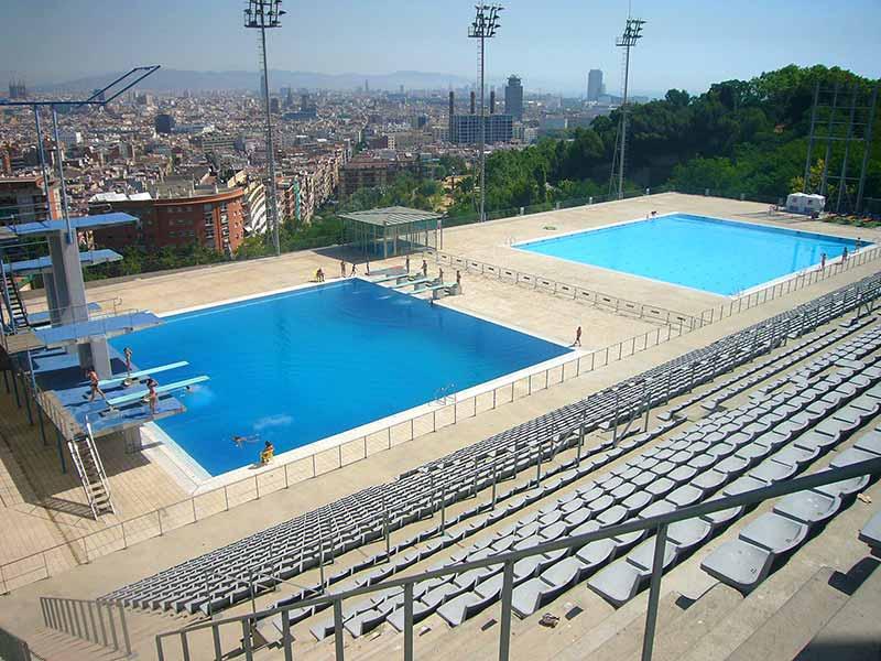 piscine montjuic barcelone