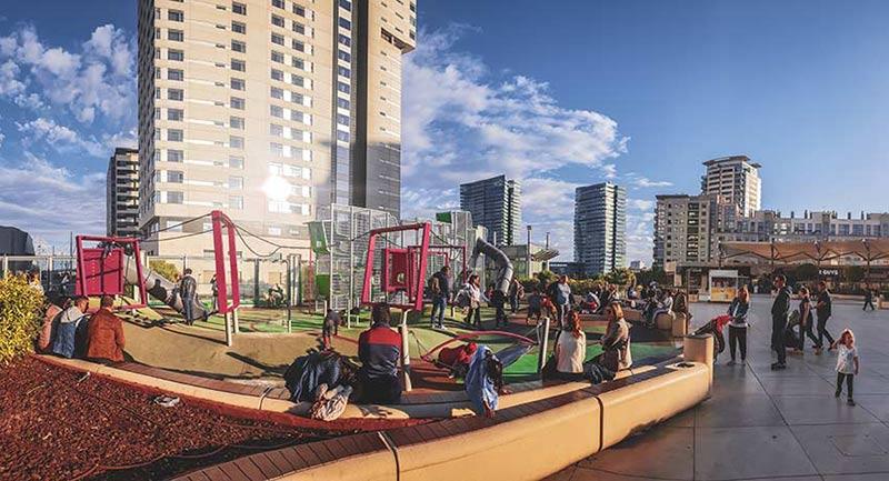 jeux enfants centre commercial diagonal mar