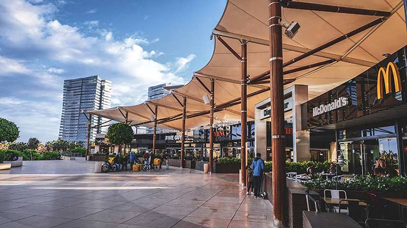 centre commercial diagonal mar