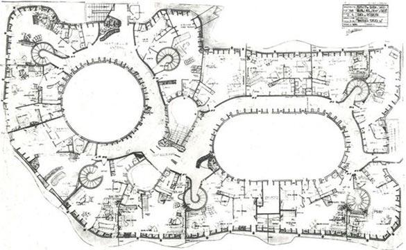 Plan casa Mila Pedrera