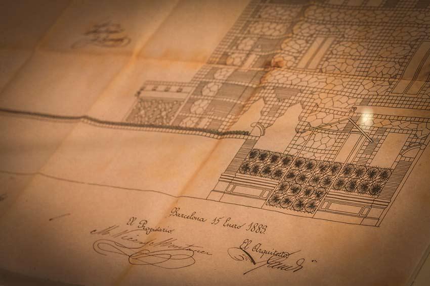 ticket casa vicens histoire