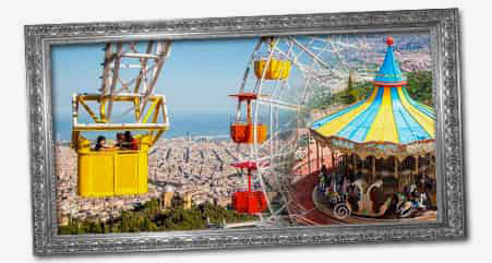 parc tibidabo barcelone