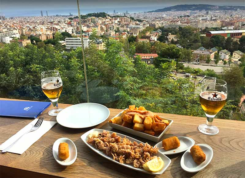 restaurant mirablau barcelona