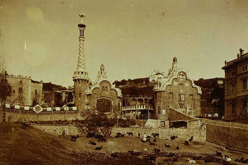 park guell 1900