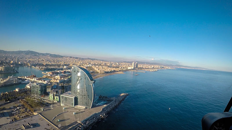 Helicoptere Barcelone hotel w barcelone
