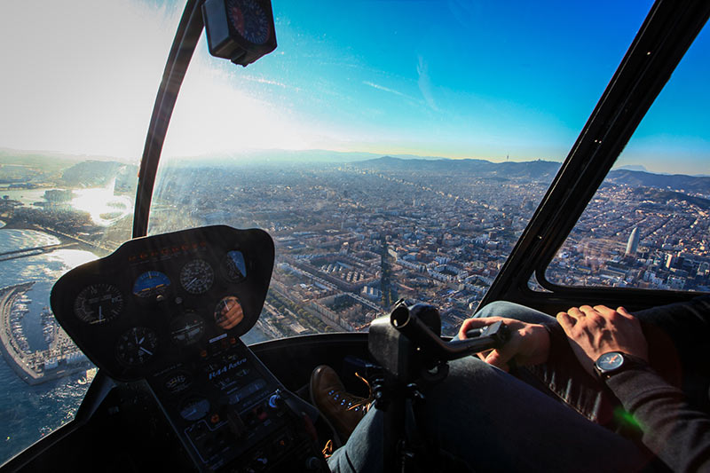 Helicoptere Barcelone