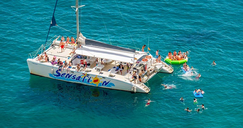 Bateau Catamaran Barcelone