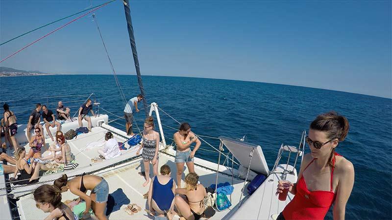 croisiere catamaran barcelone