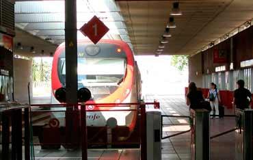 Train gare barcelone aeroport