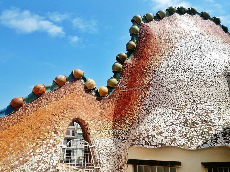 Toit Casa Batlló