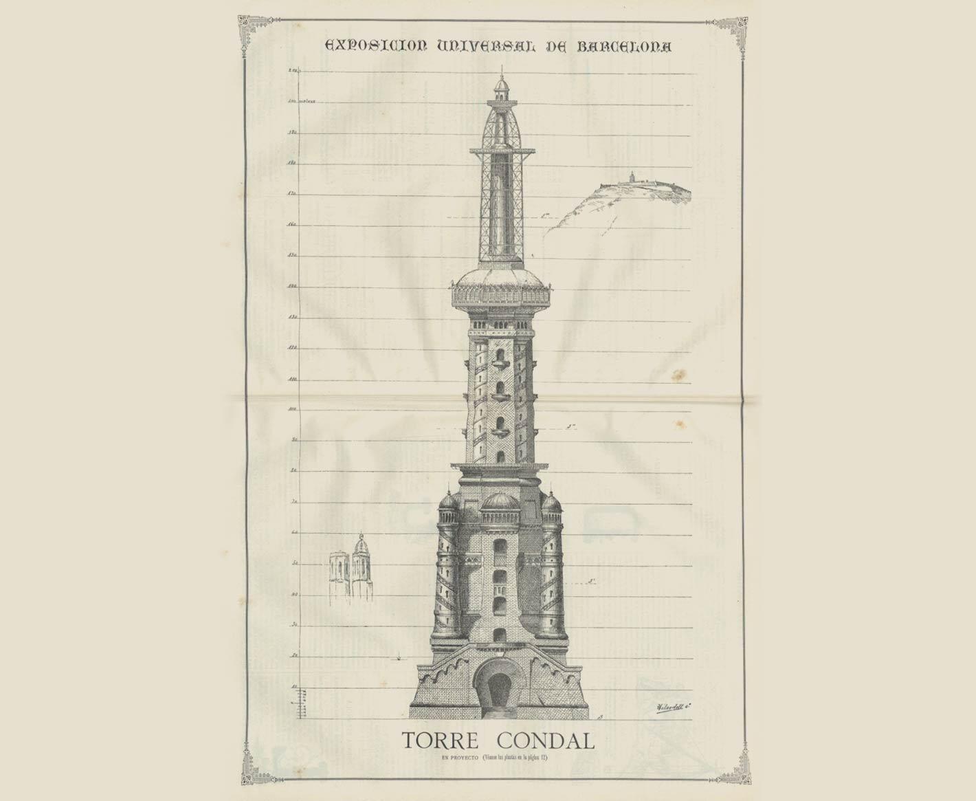 tour eiffel barcelona 1888