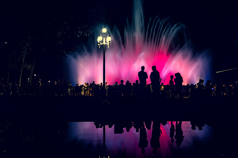fontaine magique barcelone
