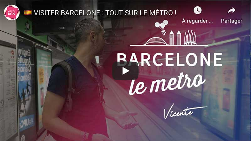 metro visiter barcelone vicente youtube