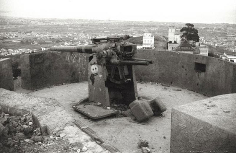 bunkers del carmel Barcelone