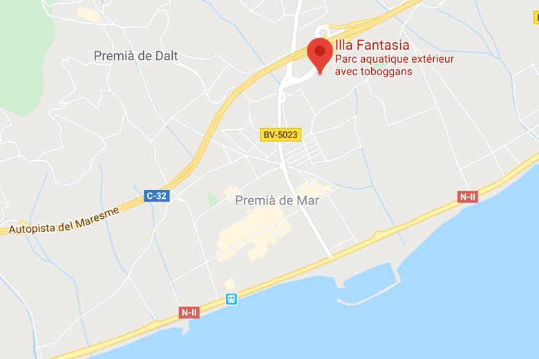 carte illa fantasia barcelone