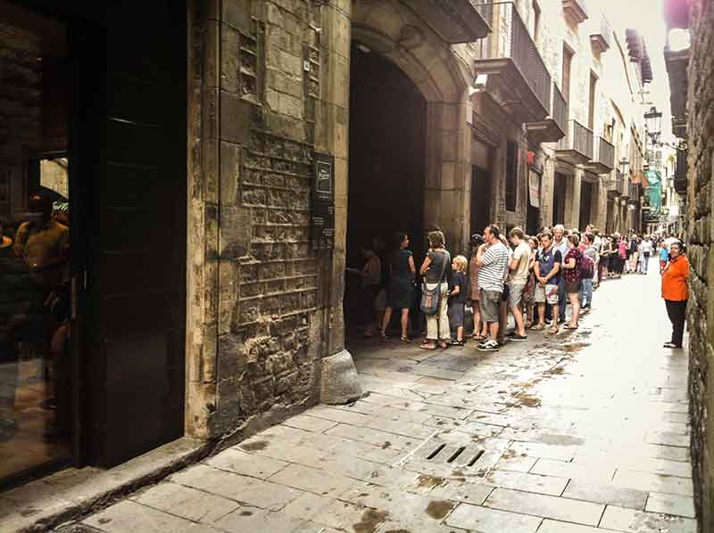 musee picasso de barcelone ticket coupe-file