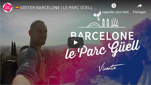 comment prendre unt ticket parc guell