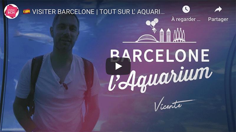 visiter aquarium de barcelone