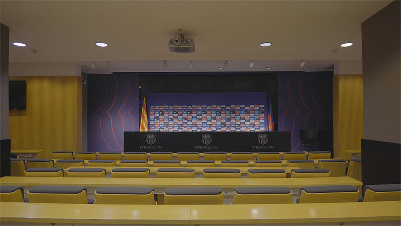 salle conference presse fc barcelone