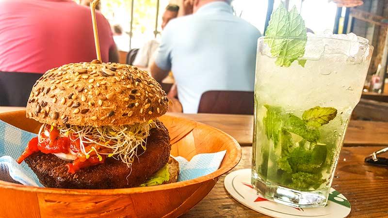 mojito burger barcelone