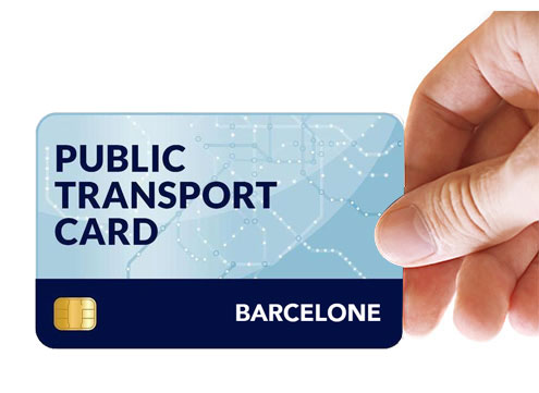 public transport card barcelone