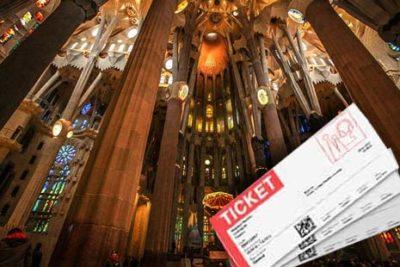 ticket sagrada familia