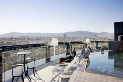 hotel barcelone raval rooftop