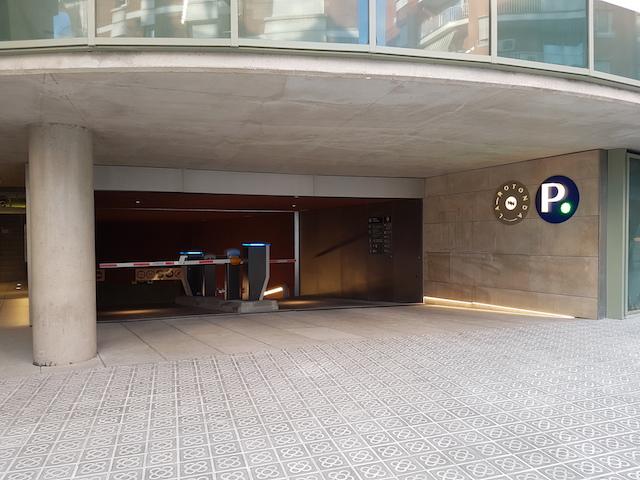 Parking barcelone