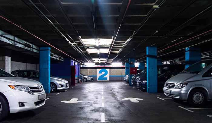 parking sagrada familia