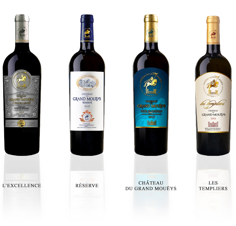 vins rouges chateau grand moueys